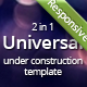 Under Construction - Universal Theme For Any Needs - ThemeForest Item for Sale