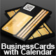 Calendar and Business Card - GraphicRiver Item for Sale