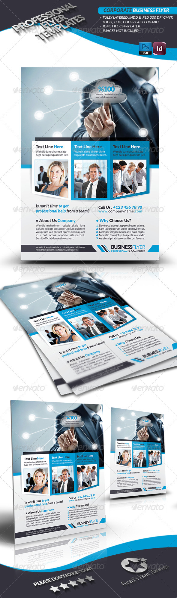 GraphicRiver Corporate Business Flyer 3580812