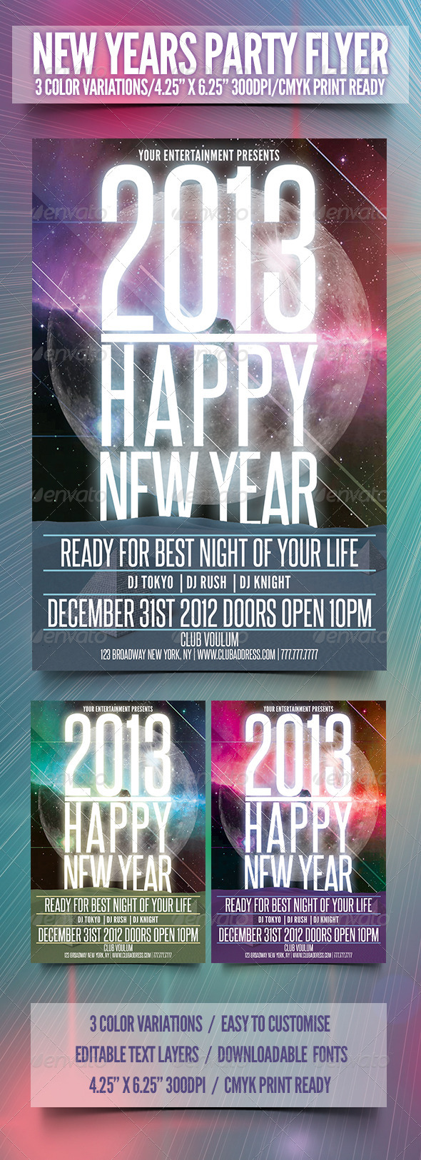 GraphicRiver 2013 Happy New Year 3540863