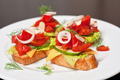 Toast with vegetables - PhotoDune Item for Sale