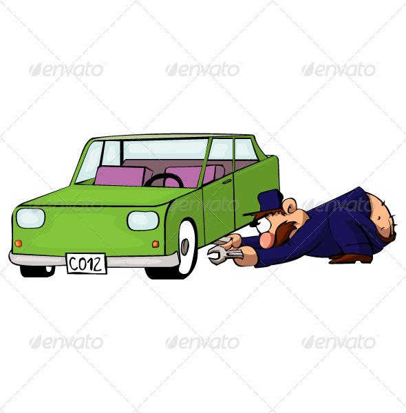 GraphicRiver Auto Mechanic 3582374
