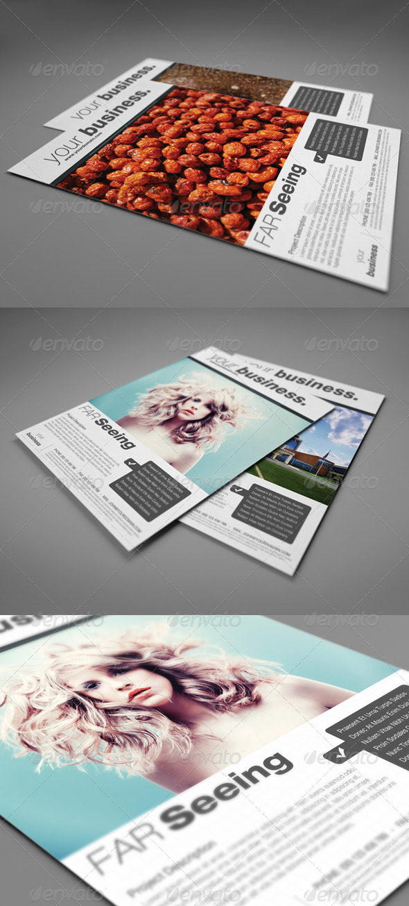 GraphicRiver Corporate Flyer AD 3582451
