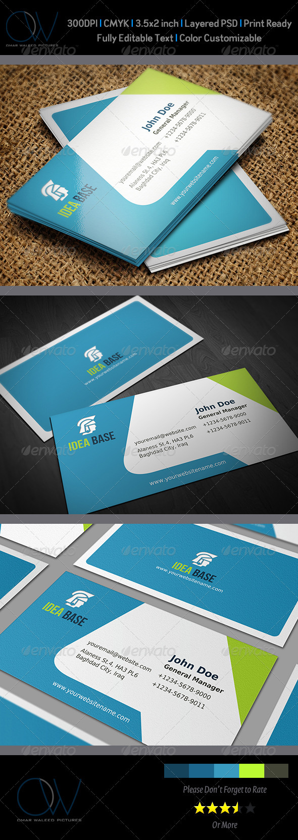 GraphicRiver Corporate Business Card Vol.12 3583063