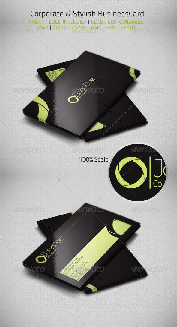GraphicRiver Corporate & Stylish Businesscard 3583568