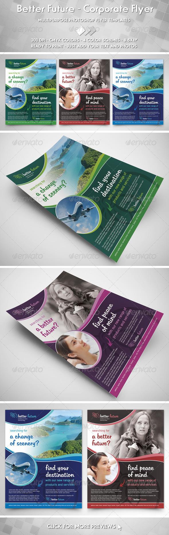 GraphicRiver Better Future Flyer 2490731