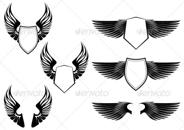 GraphicRiver Heraldic Symbols 3583948