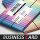 Creative Pastel Rainbow Business Card - GraphicRiver Item for Sale