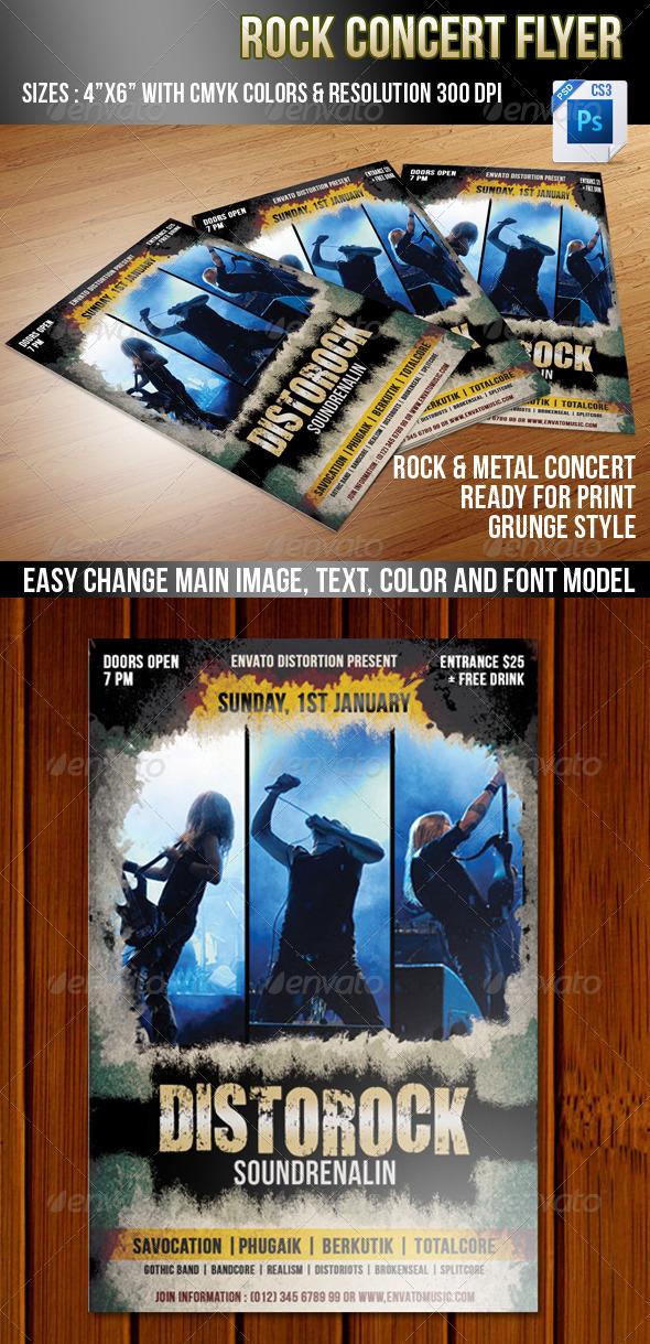 Rock Concert - Concerts Events