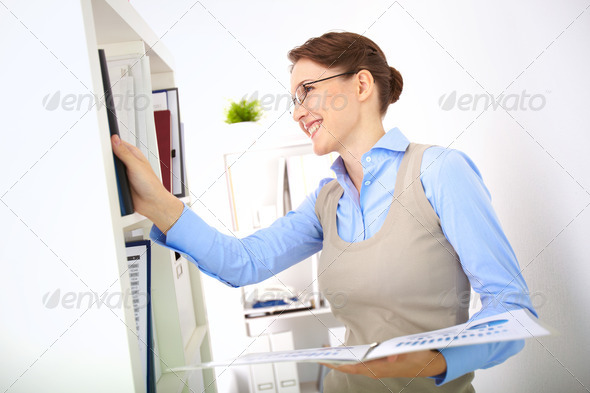 Busy accountant - Stock Photo - Images