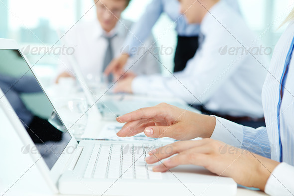 Typing - Stock Photo - Images