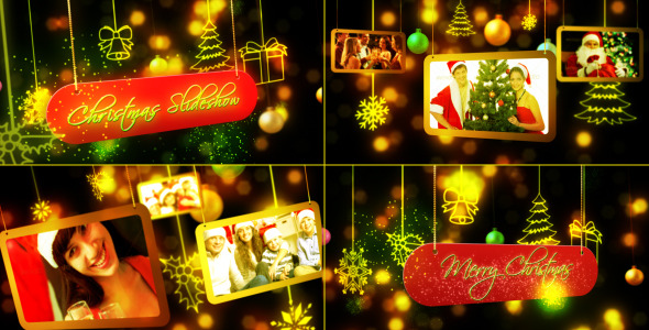 VideoHive Christmas Slideshow 3585938