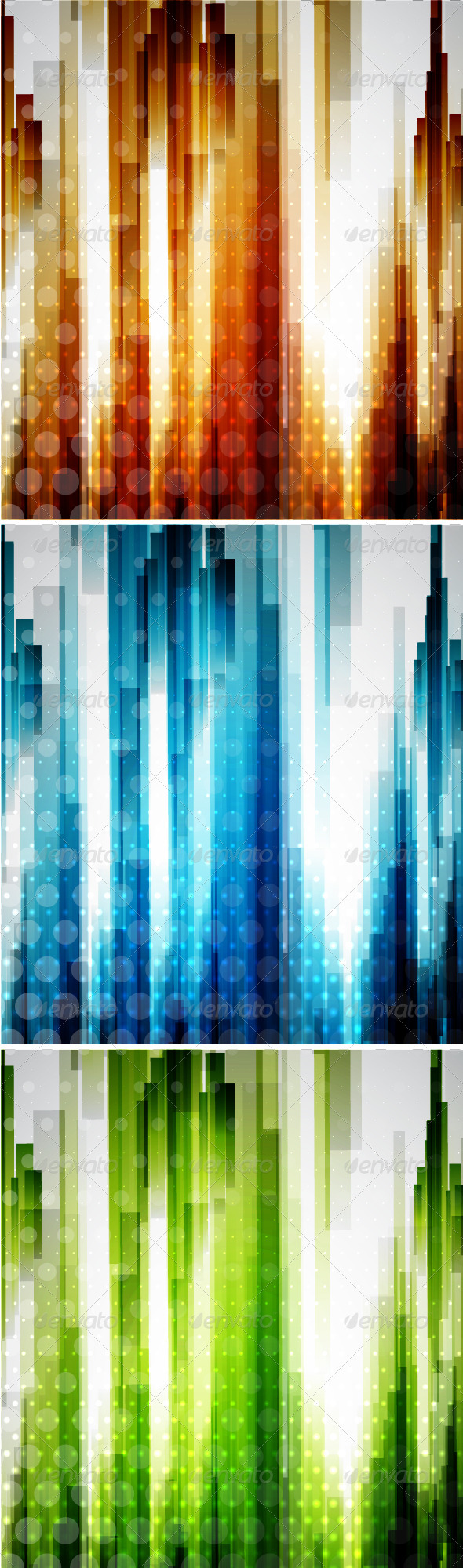 GraphicRiver Vector Vertical Lines Backgrounds 3585945