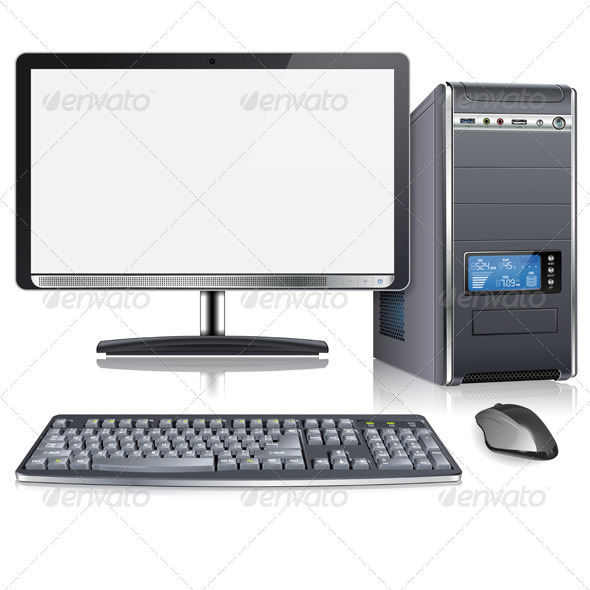 GraphicRiver Modern Computer 3586255
