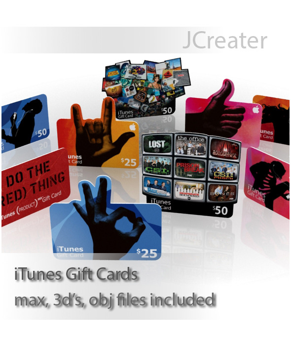 3DOcean iTunes Gift Cards 3586611