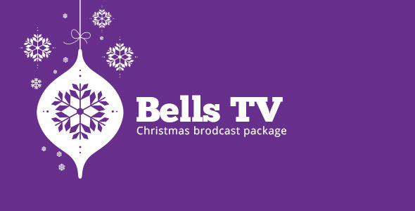 VideoHive Christmas Bells TV Broadcast Package 3568979