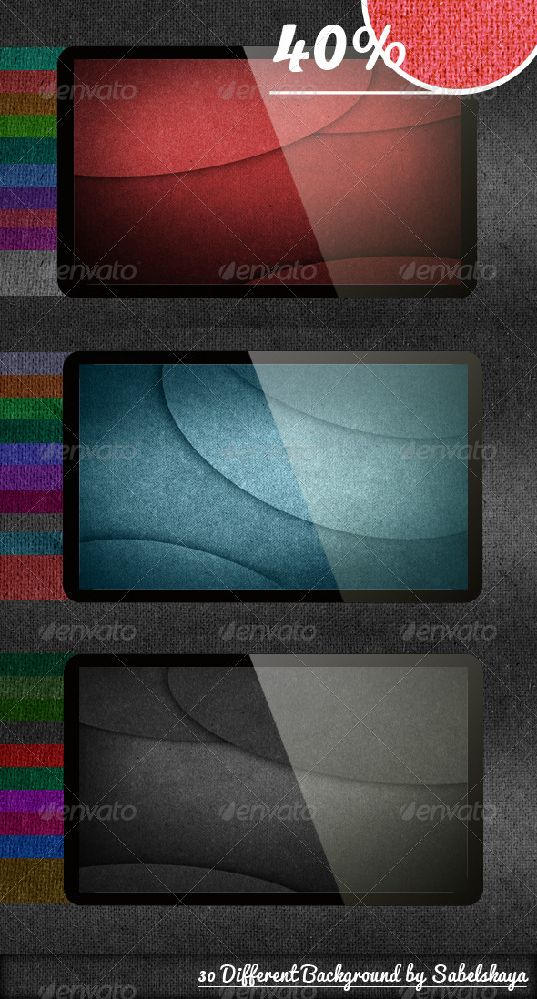 GraphicRiver Rough Texture 30 Different Background 3587451