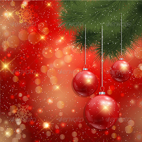 GraphicRiver Christmas Background 3587454