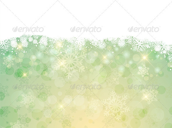 GraphicRiver Christmas Snowflakes 3587466