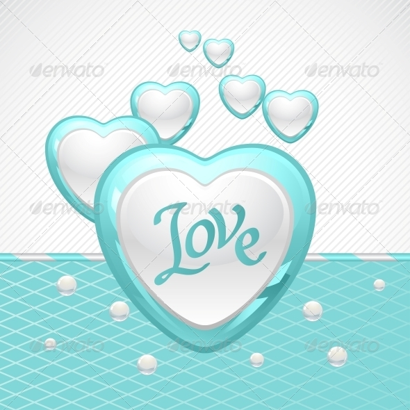 GraphicRiver Valentine s Day Vector Background 3587609