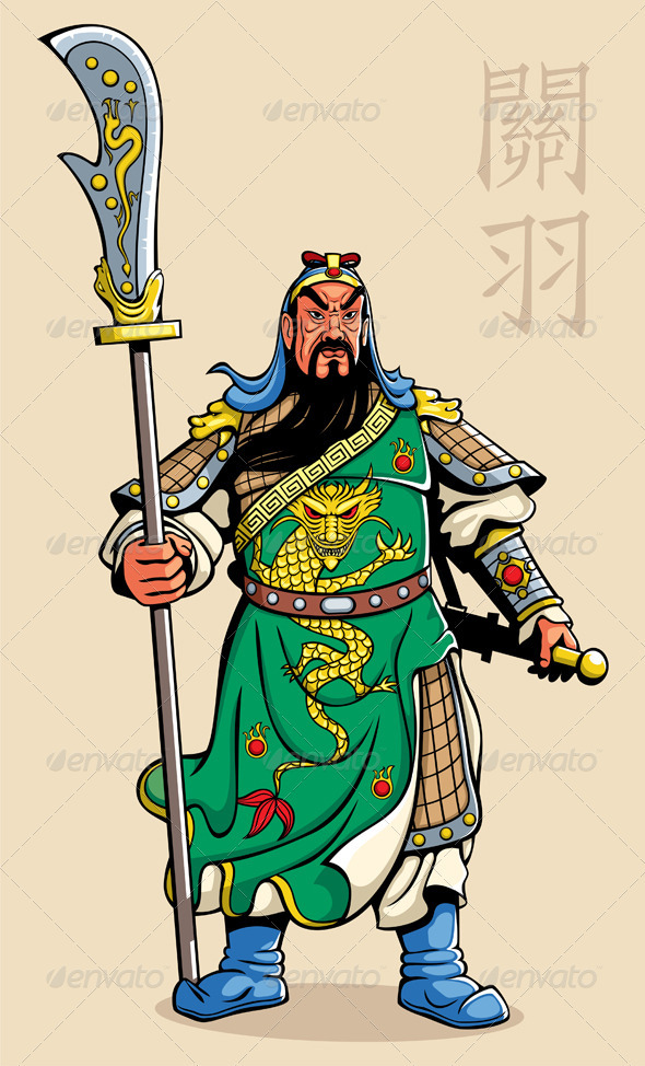 GraphicRiver Chinese Warrior 3587618
