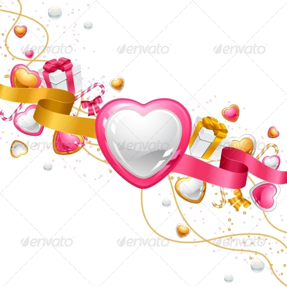 GraphicRiver Valentine s Day Vector Background 3587661