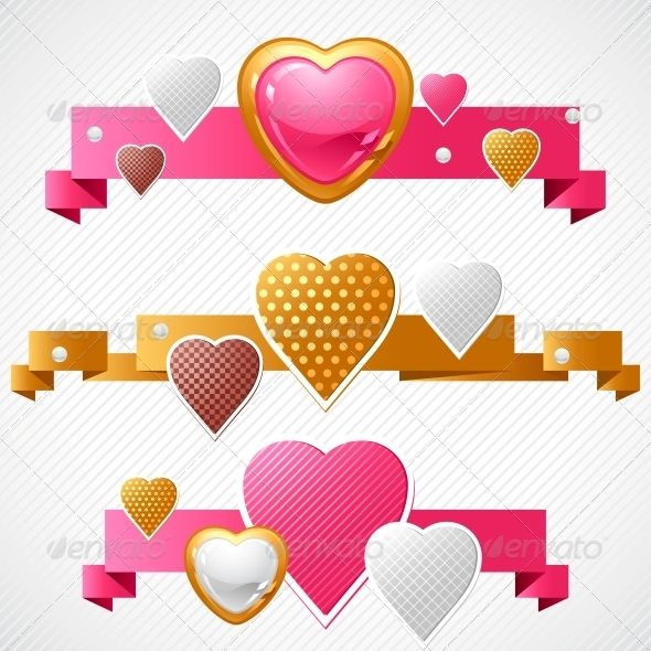 GraphicRiver Valentine s Day Vector Background 3587712