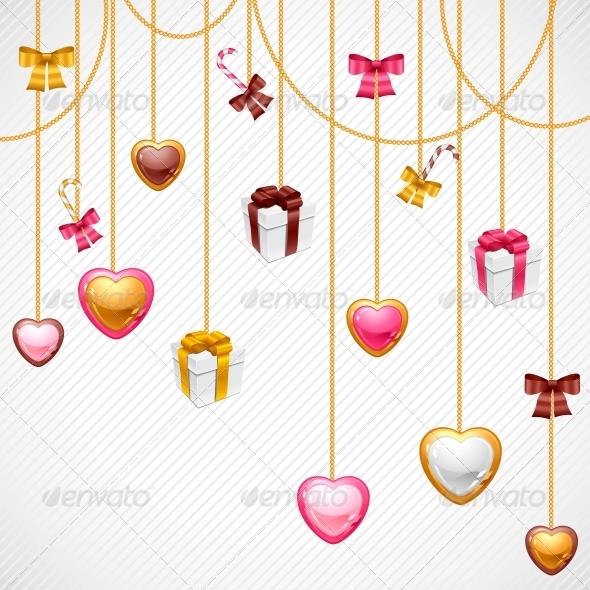 Valentine s Day Vector Background