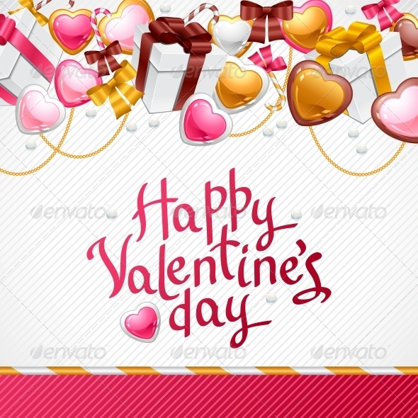GraphicRiver Valentine s Day Vector Background 3587981