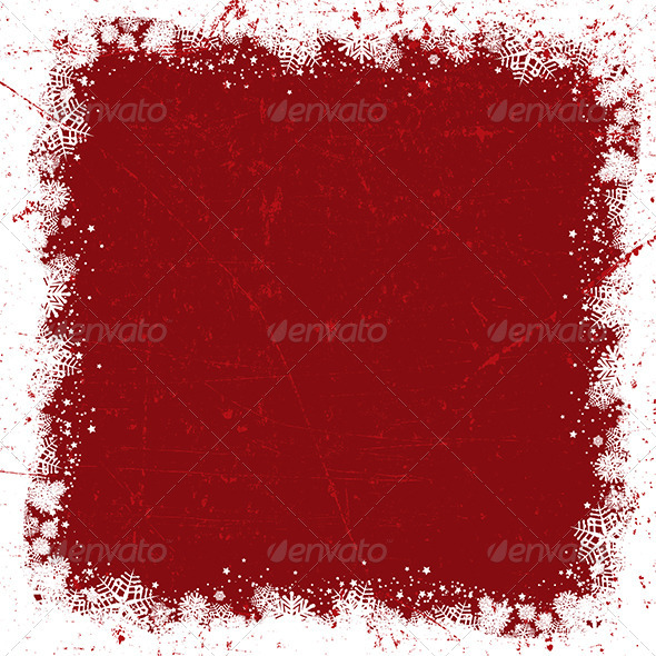 GraphicRiver Grunge Christmas Background 3588049