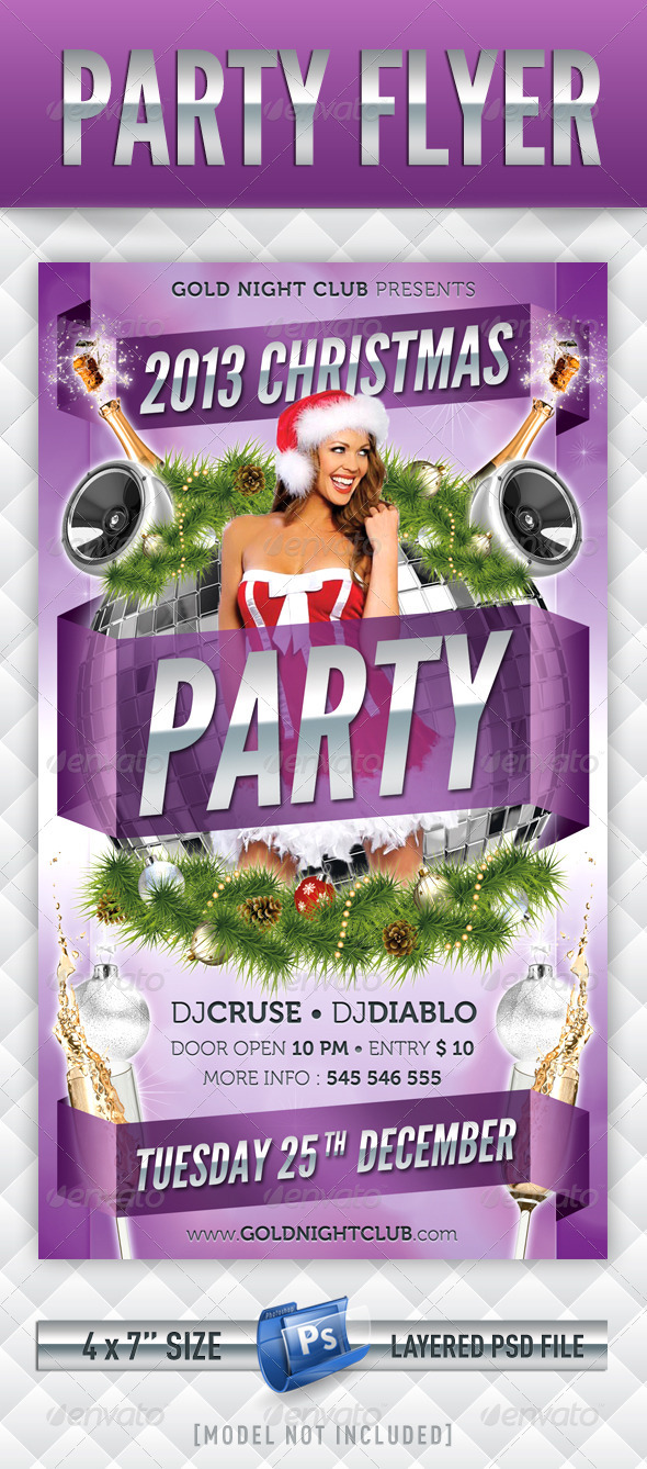 GraphicRiver Party Flyer 3588258