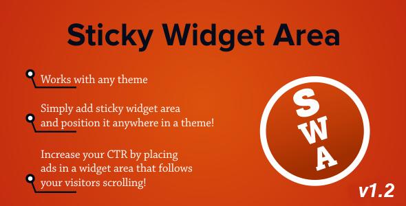 CodeCanyon Sticky Widget Area Plugin for WordPress 3018832