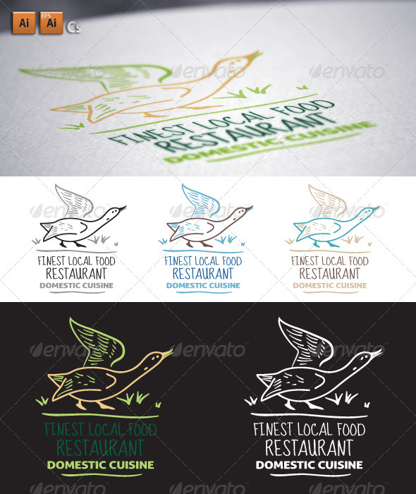 Domestic - Animals Logo Templates