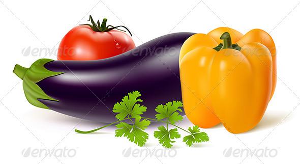 GraphicRiver Fresh Vegetables 3589571
