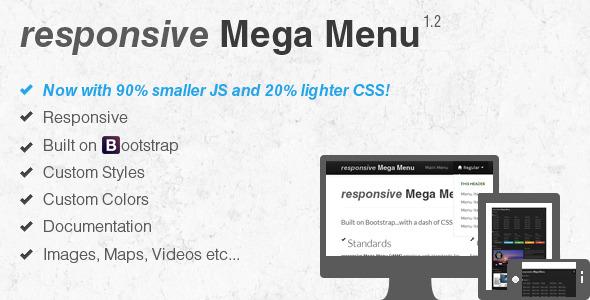 CodeCanyon responsive Mega Menu 3296119