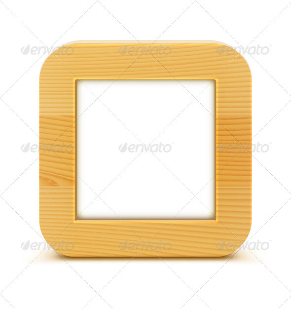 GraphicRiver Wooden Frame 3590019
