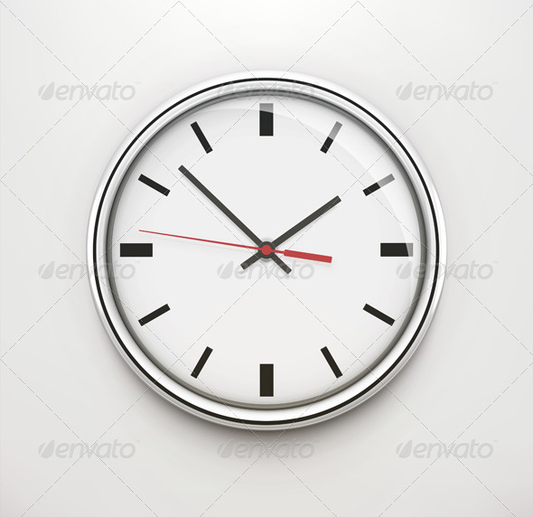 GraphicRiver Office Clock 3590157