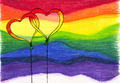Rainbow background balloons - PhotoDune Item for Sale