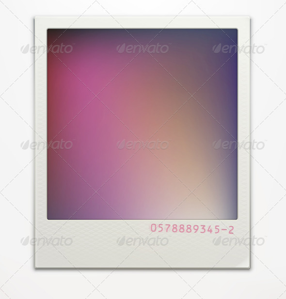 GraphicRiver Polaroid Photo Frame 3590167