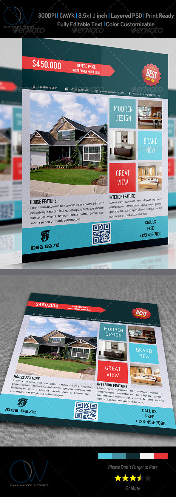 GraphicRiver Real Estate Flyer Vol.2 3590242