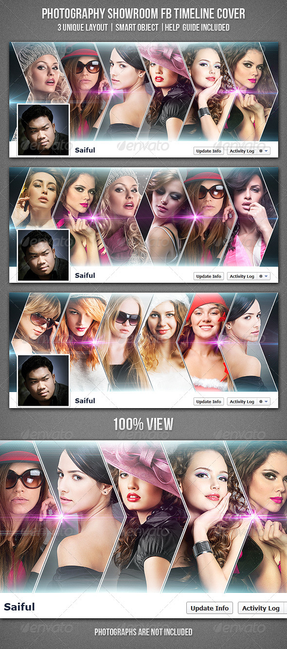 GraphicRiver Photography Showroom FB Timeline Cover 3507685