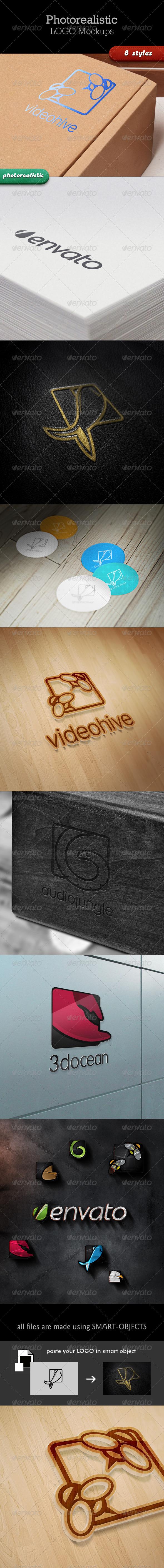 GraphicRiver Realistic Logo Mockups 3590376
