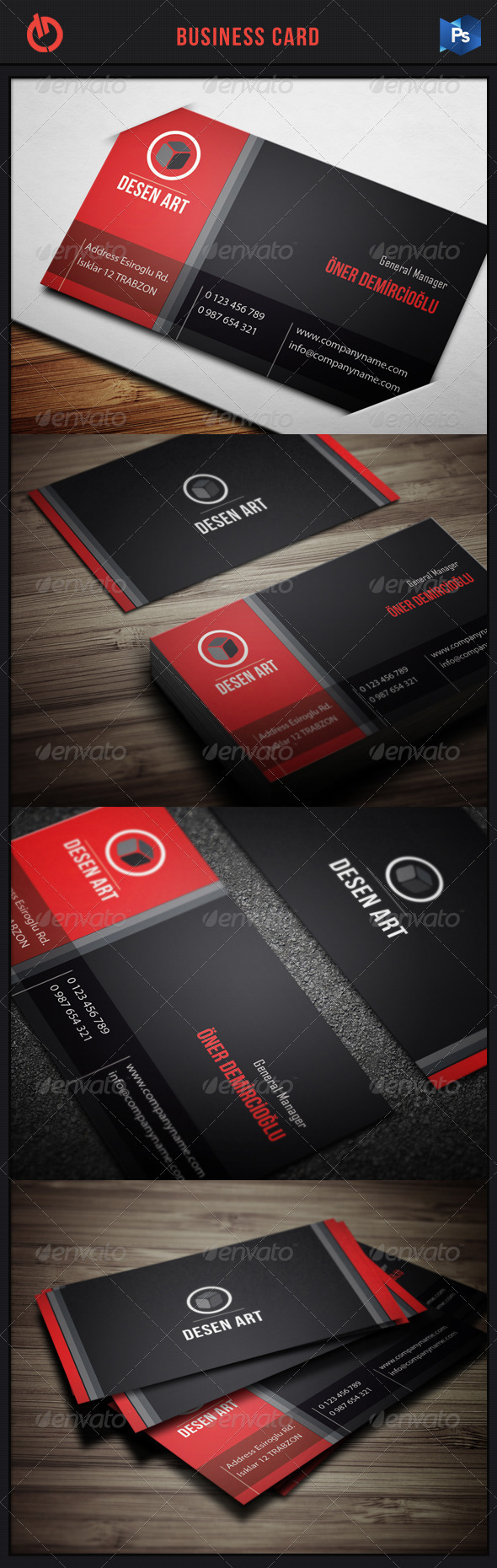 GraphicRiver Business Card 11 3549251