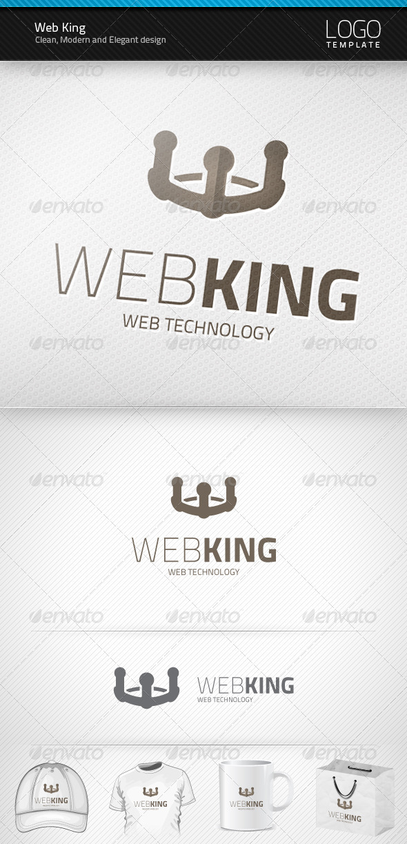 Web King Logo