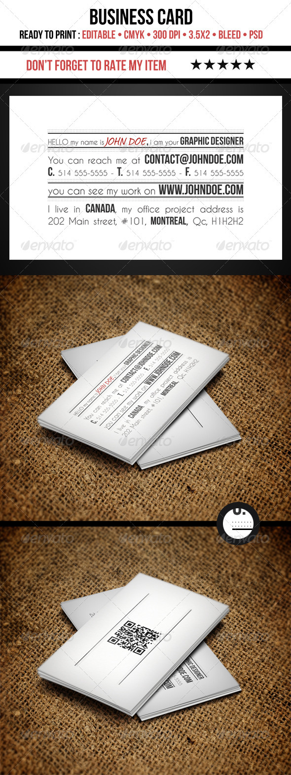 GraphicRiver Creative Business Cards 3590856