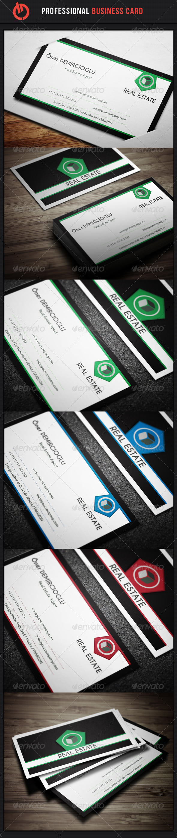 GraphicRiver Business Card 14 3591633