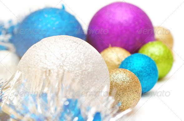 Christmas balls - Stock Photo - Images
