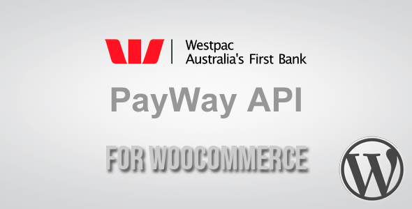 CodeCanyon PayWay API Westpac Gateway for WooCommerce 3591969