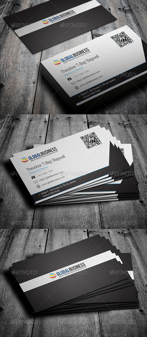 GraphicRiver Corporate Business Card 30 3592242