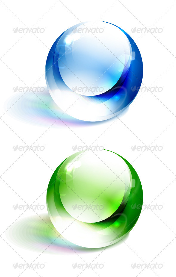 GraphicRiver Colorful Vector Spheres 3592964